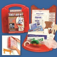 125 Piece First Aid Kit