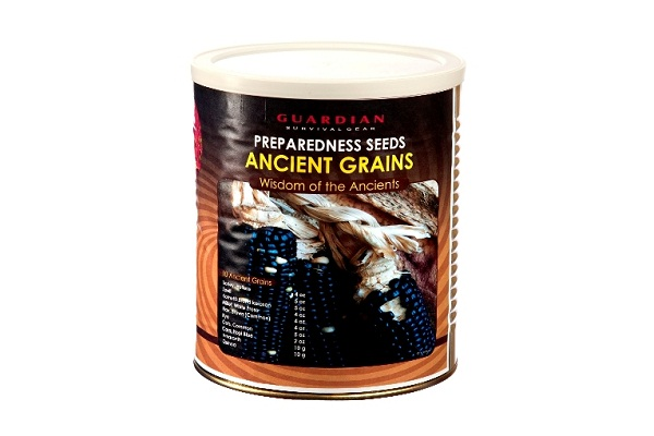 Ancient Grains Prepper Seeds