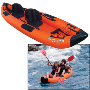 Travel Kayak Deluxe 12′ 2 Person Inflatable Kayak