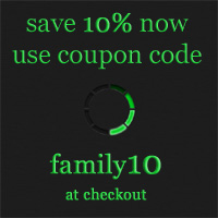 save 10% now use coupon code family10 at checkout