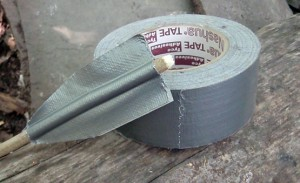 he many uses for duct tape in a doomsday prepper situation.