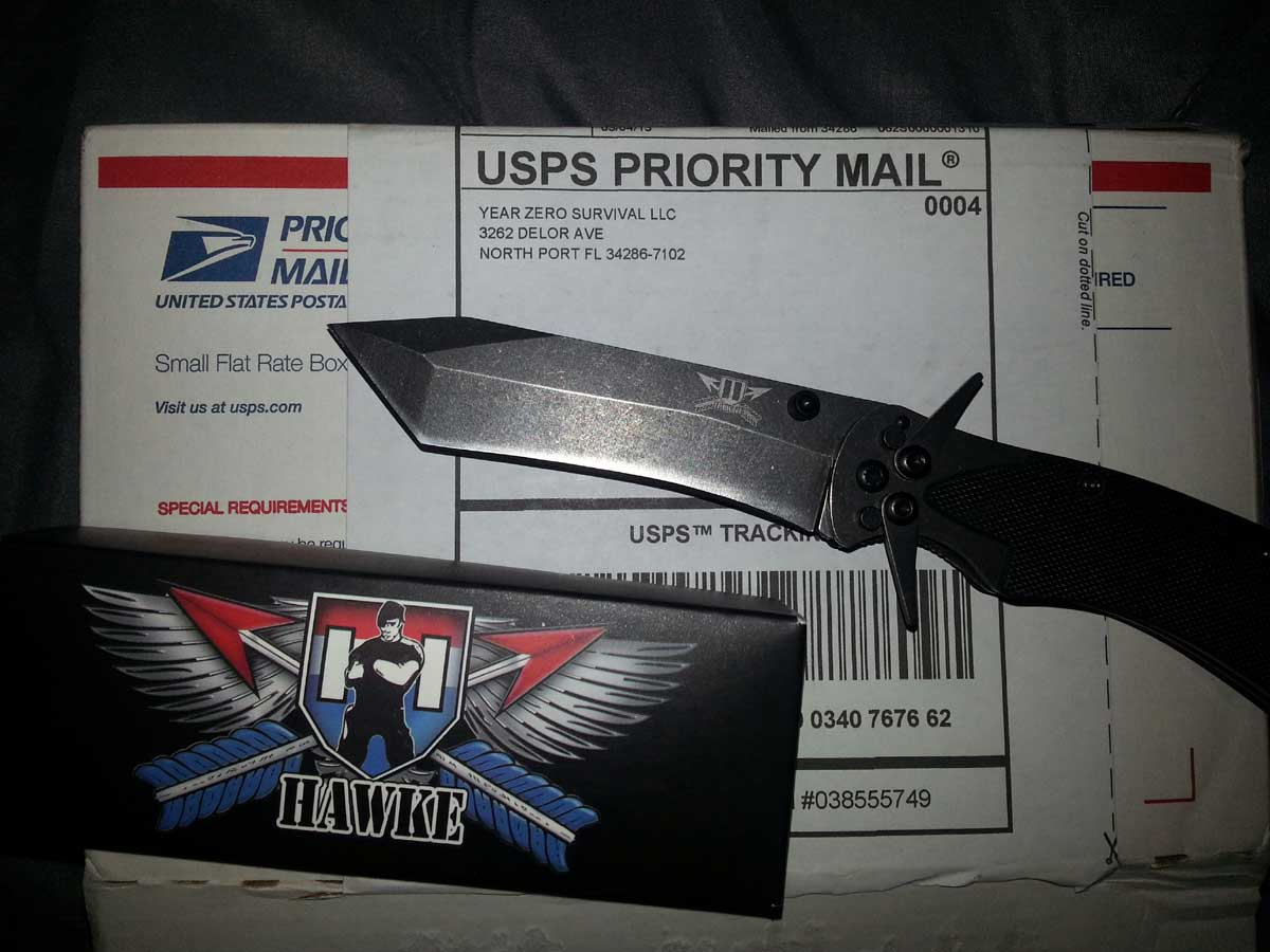 Giveaway Mykel Hawke survival knife prize for Feb 2013