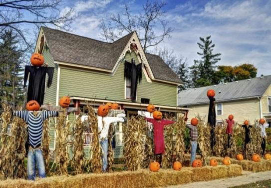 Halloween House Pic