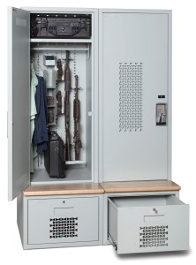 weapon-locker-with-drawer