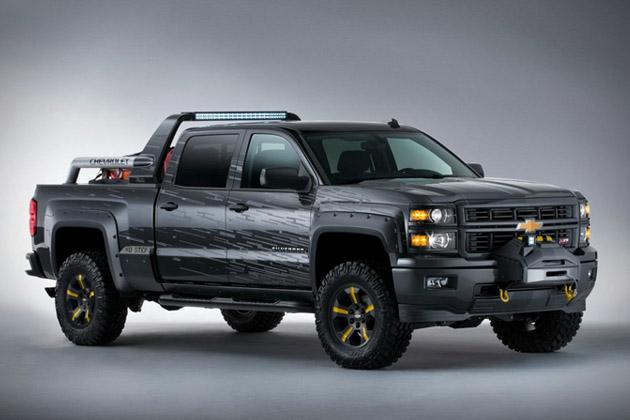 Chevrolet Silverado Black Ops