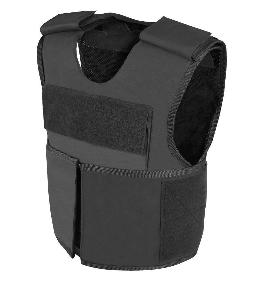 Safeguard Armor Commander - (This a tactical overt vest with hard armor which can offer ballistic plates for ballistic protection available at NIJ. Level IIa-IV, and Stab and Spike Level 1 and 2)