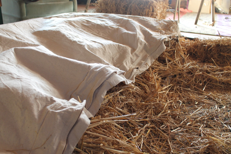 Straw Bed