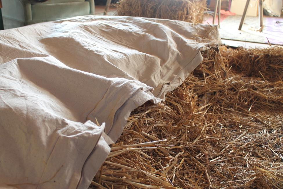 Straw Bed