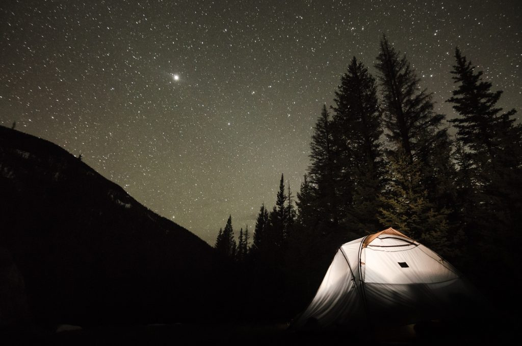 Be prepared when you go camping or hunting. 5 Tips to Survive.