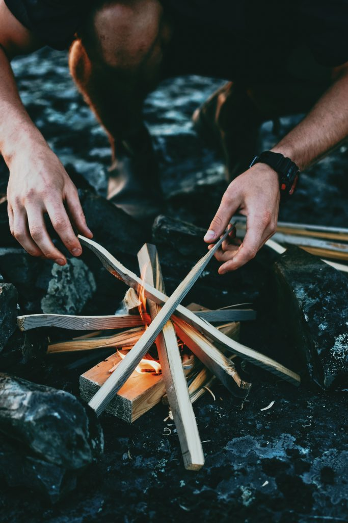 Your ability to make fires while in the wild is essential.