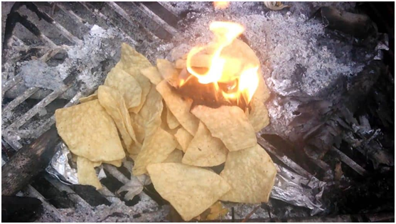 Camping Hack #9 Take Corn Chips for Food and Fire