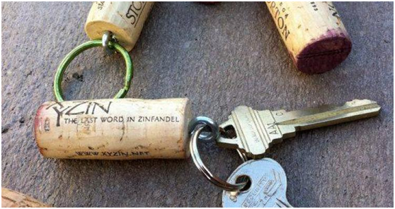 Camping Hack #1 Keep Your Keys Safe with Cork