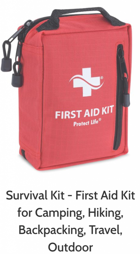 First Aid Survival Kit with N 95 Mask from firstaidkitsurvival.com