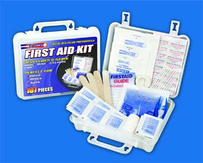 107 Piece First Aid Kit